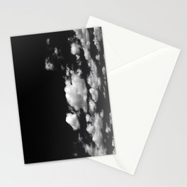 Cotton Clouds (Black and White) Stationery Cards