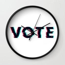 Vote Glitch 2020 Election Voting Biden Trump Wall Clock