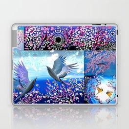 Cherry Blossom Collage Laptop & iPad Skin