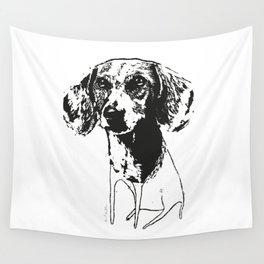 HALF BREED DOG Wall Tapestry