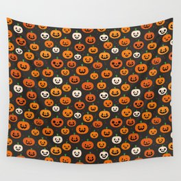 Jack-o-lanterns Wall Tapestry