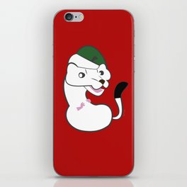 Elf stoat Noel iPhone Skin
