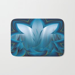 Color Meditation - Blue  Bath Mat