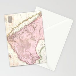 Vintage Map of Saudi Arabia (1818) Stationery Cards