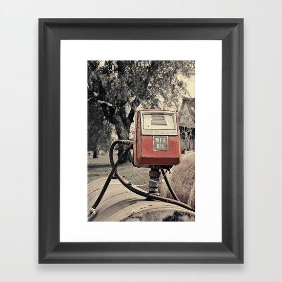 MFA OIL Framed Art Print