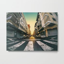 Chacao Sunset Metal Print