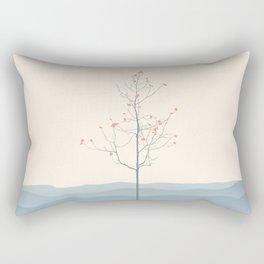 Twig Tree - Serenity Rectangular Pillow