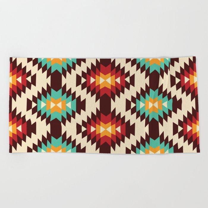 American Native Pattern No. 182 Beach Towel