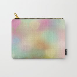 Soft pastel watercolour abstract Carry-All Pouch