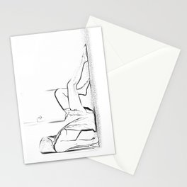 Pure nude Stationery Cards