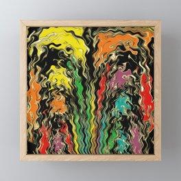 Ghosts of Rainbow Past Framed Mini Art Print