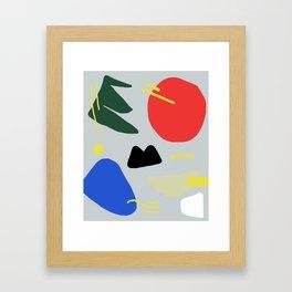 Primary Chunker Framed Art Print
