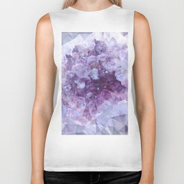 Crystal Gemstone Biker Tank