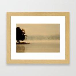 Haunted Dawn Framed Art Print