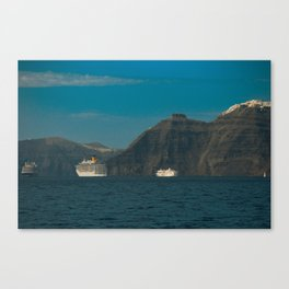 Santorini, Greece 5 Canvas Print