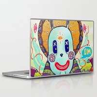 bugs Laptop & iPad Skins featuring Bugs Budha by Andon Georgiev