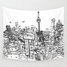 Toronto! Wall Tapestry
