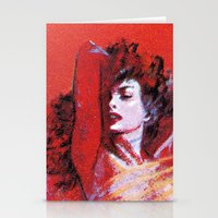 vonnegut Stationery Cards featuring Vonnegut -  The Sirens of Titan by Neon Wildlife