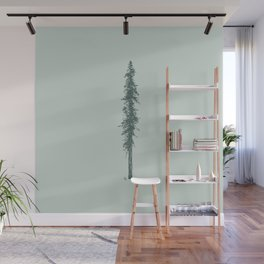Love in the forest - sage Wall Mural