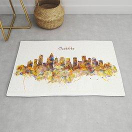 Charlotte Watercolor Skyline Rug