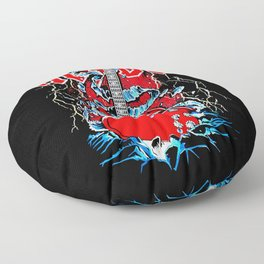 ACDC Guitar Floor Pillow