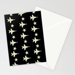 F-18 Hornet Fighter Jet Pattern Stationery Cards