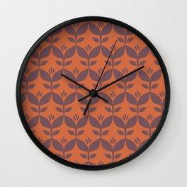 Autumn retro 1 Wall Clock