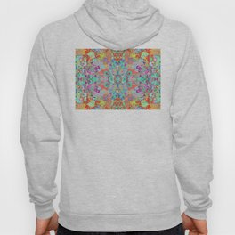 Fire and Ice - Compass Art Fractal Hoody