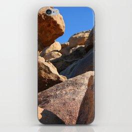 Climbing Rockfalls iPhone Skin