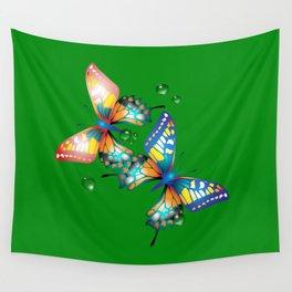 Schmetterlinge Wall Tapestry