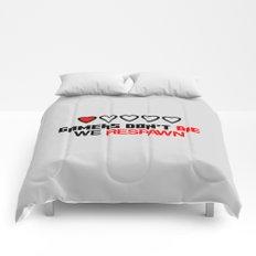 Gamers Don't Die Comforters