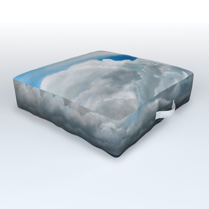 Gathering Storm Outdoor Floor Cushion