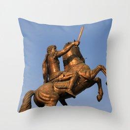 Skopje IV Throw Pillow