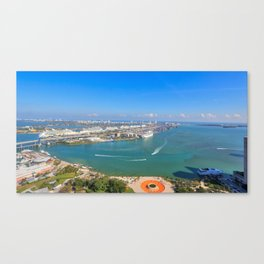 Biscayne Bay View Canvas Print