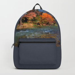 Fall Foliage in the Guadalupe River Backpack
