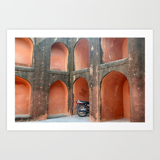 My Privete parking place Art Print