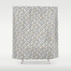 loves me loves me not pattern - pastel Shower Curtain