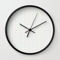 camp Wall Clocks featuring CAMP by maskatayama