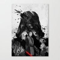 starwars Canvas Prints featuring StarWars by M.M.Prod