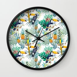 Parroted Wall Clock