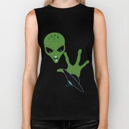 Alien Ufo Biker Tank