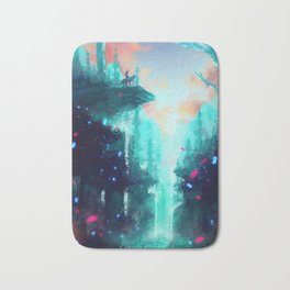 Mononoke Forest Bath Mat