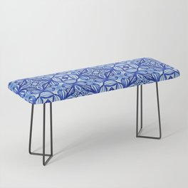 For the Love of Blue - Pattern 372 Bench