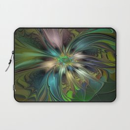 Colorful Abstract Fractal Art Laptop Sleeve