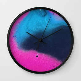this is actually a bath bomb Wall Clock