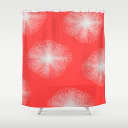 Coral Bust Shower Curtain