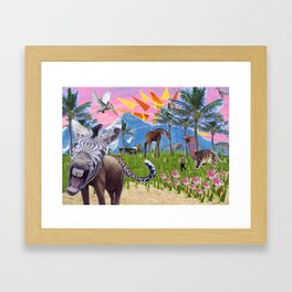 Wonderful Place Framed Art Print