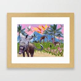 Wonderful Place Framed Art Print