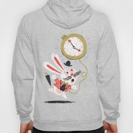 White Rabbit - Alice in Wonderland Hoody