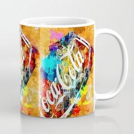 Coke Grunge Coffee Mug